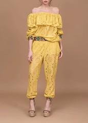 Camisa de encaje de Mängata-Tienda de ropa Bell Rock (bellrockmoda) Tags: moda mängata mujer ropa marcas tienda estilo camisa encaje volantes pantalón