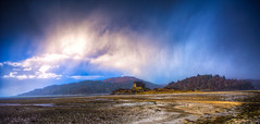 A Wee Hail Storm (Lynleigh Cooper) Tags: scotland scottish scottishhighlands vista visitscotland castle castles sky beauty beautiful rain thunderstorm thunderstorms travel nature naturalbeauty natureshot clouds beach ocean love lovely naturelover nikon nikond750 pretty stunning wideangledlens wideangle remote mountains mountain landscape landscapephotography landscapes d750 color storms storm hail weather highlands castletioram traveler trip vacation adventure adventures beautyinnature naturallight light dramatic drama europe