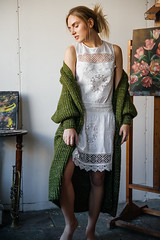 Ира (annie_scorsese) Tags: girl nikon nikond700 natural beautiful beautygirl woman womanportrait girlportrait green portrait художница художник