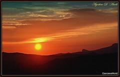 Tramonto di fine Marzo - 2017 (agostinodascoli) Tags: tramonto sunset paesaggi marzo primavera cianciana sicilia texture nature nikon nikkor