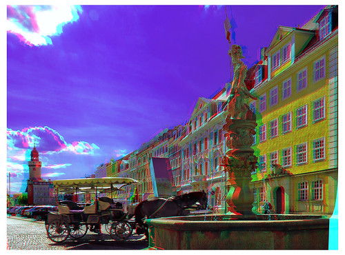 Goerlitz in the state of Saxony 3D :: DRi Anaglyph Stereoscopy