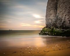 Botany Bay, Kent (Alan Bourne) Tags: uk greatbritain morning england beach sunrise landscape dawn graffiti kent sand europe britishisles unitedkingdom britain ken cliffs british dawning botanybay margate sunup daybreak broadstairs breakofday startofday breakoftheday