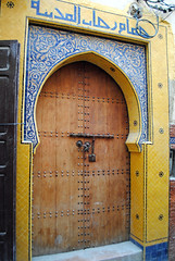 The Doors of Morocco (just_a_cheeseburger) Tags: morocco fes feselbali fesmedina