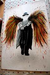 WIP... (grafter_pics) Tags: urban streetart ink print stencil paint spray graffitti splash inproduction grafter