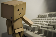 Words (FunnyChaos) Tags: danbo revoltech danboard