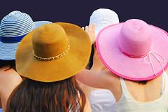 (Cliff Michaels) Tags: girls portrait cliff colors girl face photoshop nikon pretty smiles hats teen michaels cliffmichaels d5000 pse9