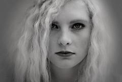 let me give your heart a break. (annaisabellekemi) Tags: portrait white black love girl fashion nikon photoshoot blond isabelle selfie kemi d3000