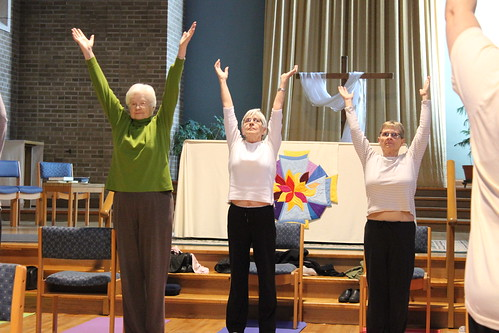 Chair Yoga - Health and Wellness - April 2013 (8)