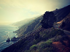 The Way (flava2000) Tags: california travel usa nature sunshine landscape drive coast bigsur highway1