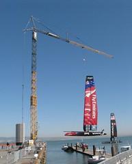 Fast-erecting Crane - Americas Cup (Morrow-Equipment) Tags: feature morrowequipmentcompanymecsal