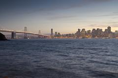 San Francisco (Jay Pasion) Tags: sanfrancisco california sky skyline night dawn lights bay nikon baybridge bayarea d7000 jaypasion