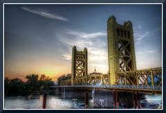 Sacramento_8444d (bjarne.winkler) Tags: ca bridge sunset tower sacramento