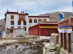 P1020384 Phyang monastery architecture. Ladakh. Jul 2013. PS  (peteshep) Tags: india architecture ps ladakh littletibet phyang phiyang peteshep copyrightphoto phayang fz200 july6th2013 drigungpa