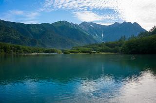 Lake Taisyoike (Hotaka mountains)