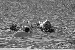 Estilos literarios/Literary styles (Joe Lomas) Tags: leica girls two beach reading reader candid playa dos m8 reality chicas urbanphoto realidad lectora leyendo robado robados realphoto fotourbana fotoreal photostakenwithaleica leicaphoto