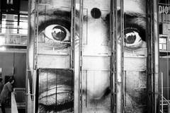 (busy.pochi) Tags: olympusom10 olympus om10 zuiko film analog pellicule argentique 135 24x36 フィルム paris パリ bw nb モノクロ オリンパス ズイコー beaubourg cnac centrepompidou ポンピドゥー・センター face visage 顔 35mm museum reflex slr monochrome
