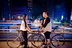 DSC_0082 (Ellen.B Chang 大大兒) Tags: girl bike bicycle nikon taiwan gear fixed fixie taipei 20mm 18 a2 d600 fggt