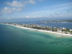 Bradenton Beach (mhaver) Tags: beach gulfofmexico clouds gulf florida annamaria parasailing bradentonbeach
