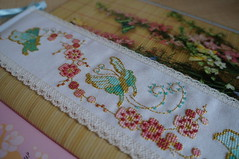 blossom and butterflies cross stitch /    -   (katarishko) Tags: flowers pull cross stitch bell blossom butterflies oriental