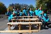 Chicago, Illinois - building bench (HiltonWorldwide) Tags: corporate community day hilton grand week service hotels hampton volunteer conrad vacations embassysuites volunteerism hiltonhhonors doubletreebyhilton hiltonworldwide hiltonhotelsandresorts travelwithpurpose