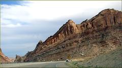 San Rafeal Swell, UT 7-23-13zzq (inkknife_2000 (8 million views +)) Tags: utah desert redrocks skyandclouds sanrafaelswell i70 mesas rockformations i15 greenriverut virginrivergorge sanrafaelreef dgrahamphoto