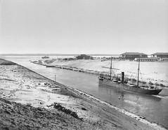 02_Suez - Entrance to Crocodile Lake 1895 (usbpanasonic) Tags: canal egypt egyptian egypte  suex egyptians egyptiens