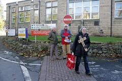 Doncaster Gate Hospital Demolition Protest (28) (Chris.,) Tags: england hospital gate demolition nhs nursing rotherham doncaster southyorkshire doncastergatehospital peoplesprotest november4th2013