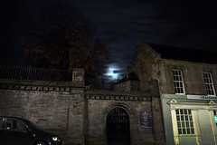 Moon Over Greyfriars Kirk, Edinburgh (Colin Myers Photography) Tags: moon castle colin night photography scotland edinburgh edinburghcastle scottish atmospheric kirk myers greyfriars edinburghphotography greyfriarsgraveyard colinmyersphotography