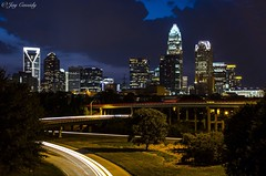 Charlotte, NC (JayCass84) Tags: street camera city longexposure urban beautiful skyline architecture photography photo nc nikon flickr cityscape charlotte awesome streetphotography northcarolina carolina citylandscape flick streetview urbanlandscapes urbanstreetphotography cityskyline urbanlandscape urbanphotography cityskylines urbanarchitecture cityarchitecture citylandscapes d5100 instagram instagramapp nikond5100