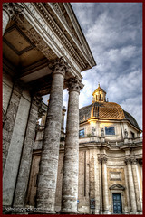 """piazza del Popolo, Santa Maria dei Miracoli • <a style=""""font-size:0.8em;"""" href=""""http://www.flickr.com/photos/89679026@N00/11083032675/"""" target=""""_blank"""">View on Flickr</a>"""