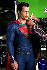 Superman behind the scenes (Guardian Screen Images) Tags: man film comics movie book dc uniform comic steel books super scene tights superman suit henry hero superhero behind tight scenes spandex lycra cavil 2013