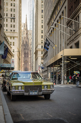 Une Cadillac à New York