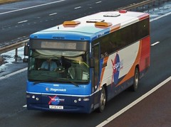 53252 - SP06 FVE (Cammies Transport Photography) Tags: bus volvo coach amazon edinburgh fife profile via flyover stagecoach dunfermline in corstorphine m90 plaxton x52 53252 sp06fve