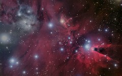 Red-Black-Galaxy-Stars (GurshobitBrar) Tags: blue red galaxy planets newworlds