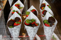 Naughty delights (pbr53) Tags: strawberries chocolatedipped