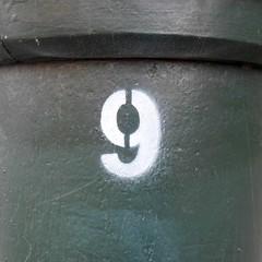 09-08 (Navi-Gator) Tags: nine 9 number odd 0to99set8