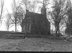 church krommiedijk (fotografie Robert lotman) Tags: lomo herfst nederland natuur nh nl mamiya645 landschap noordholland zaanstad 2013