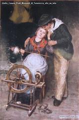 Giulio Cesare Prati Momenti di Tenerezza olio su tela