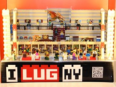 January Showcase Queens (notenoughbricks) Tags: lego lug moc legocity legomuseum ilugny lugshowcase