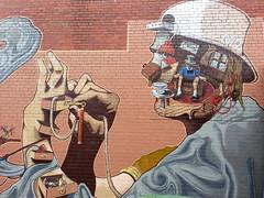 RAD... (colourourcity) Tags: streetart graffiti awesome rad melbourne graff myla melbournegraffiti wsw melbournestreetart streetartmelbourne burncity conradbizjak colourourcity