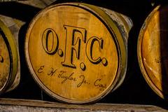 O.F.C. (Mista Sparkle) Tags: oak barrel whiskey warehouse alcohol aged bourbon distillery ofc buffalotrace ehtaylor