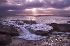 Overflow || Gerroa (edwinemmerick) Tags: ocean sunset sea sky cloud seascape water coast shoreline australia shore nsw coastline rays southcoast edwin sunray gerroa emmerick edwinemmerick