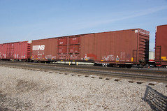 NS487244-Boxcar_Allen-Park-MI_03-31-2011 (Count_Strad) Tags: gondola boxcar bnsf tanker lw autorack tbox atsf coilcar