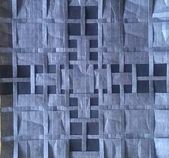 Gray Weave 5 (Tom Crain Origami) Tags: origami tessellations origamitessellations