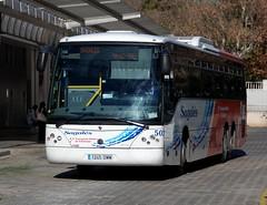 Granollers, estaci d'autobusos 21.01.2014 (The STB) Tags: bus touring scania autobs granollers noge sagals k114ib intercityii sagals503