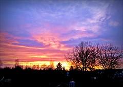 Valentine's sunset (april-mo) Tags: sunset sky sun clouds soleil ciel february nuages contrejour coucherdesoleil sunsetfrance