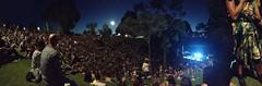 Night Falls (StuRap) Tags: music heidi gigs marissa macca thenational rimbo belvoiramphitheatre {vision}:{outdoor}=0825 {vision}:{plant}=0756 {vision}:{mountain}=0613