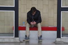 009fwl (citatus) Tags: winter toronto canada station train subway pentax ttc davisville ii k5 northbound 2014