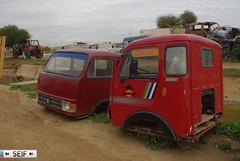Fiat OM40 Tunisia 2014 (seifracing) Tags: yard truck traffic fiat tunisia tunis transport trucks 40 trailer om emergency spotting services tunisie tunisian tunesien 2014 scrapped seifracing