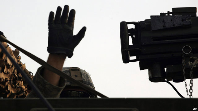 2010年8月,再见,伊拉克!